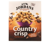 Jordans cereal muesli con chocolate negro country crisp 400 gr