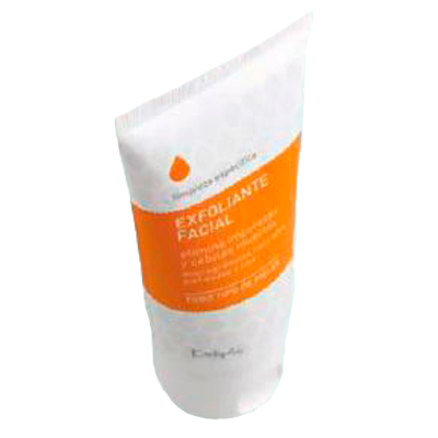 Deliplus gel facial exfoliante tubo de 75ml.