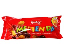 Quely galleta merienda chocolate de 80g. en paquete