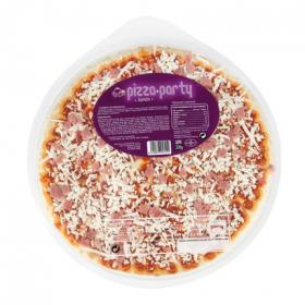 Pizza de jamón y queso party de 330g.