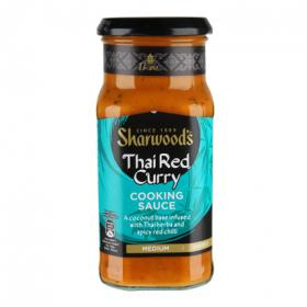Sharwood's salsa thai red curry estuche de 415g.