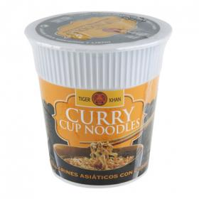 Tiger tallarines curry vaso khan de 60g.