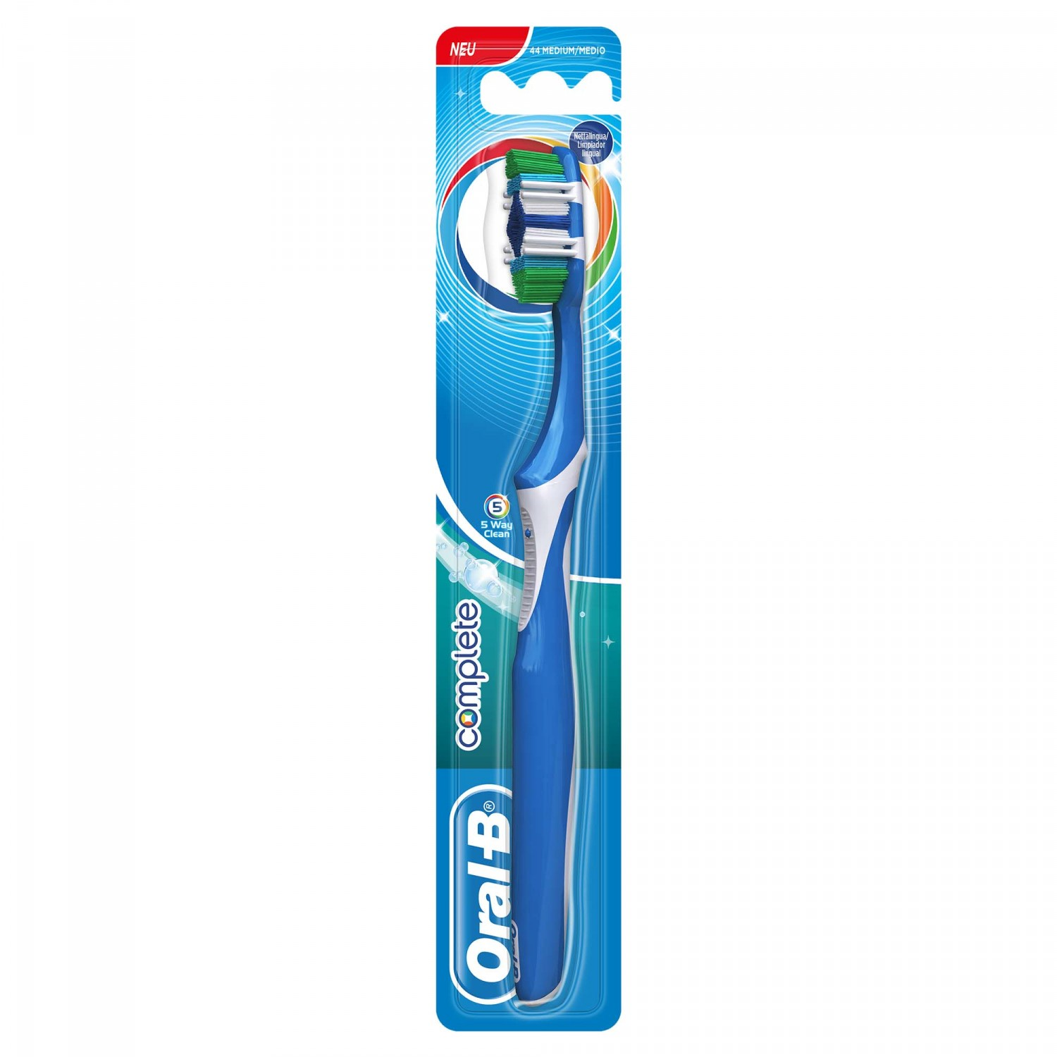 Oral B cepillo dental complete clean 5 ways blister blister