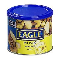 Eagle musik frutos secos de 275g. en lata