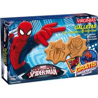 Virginias spiderman galletas con cereales 8 vitaminas de 110g. en paquete