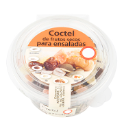 Cocktail de frutos secos para ensalada de 130g. en tarrina