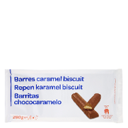 Carrefour barritas chocolate caramelo de 290g.