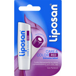 Liposan care & color basamo labial red con pantenol blister