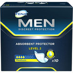 Tena for men protege slips incontinencia level 2 medium por 10 unidades en caja