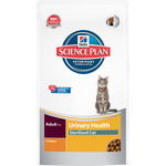 Hill's Science plan sterilised cat urinary alimento especial gatos esterilizados con pollo control urinario de 1,5g. en bolsa