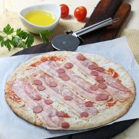 Carrefour pizza bacon salchichas