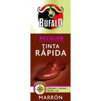 Búfalo tinta rapida color marron de 30ml. en bote