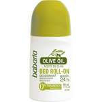 Babaria desodorante roll on aceite oliva accion 24h envase de 50ml.