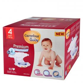 Carrefour Baby pañal premium t 4 92