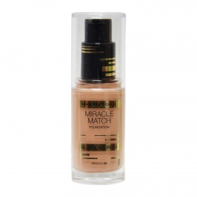 El Miracle maquillaje match nº 80 bronze max fp de 30ml.