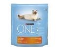 Purina One light alimento especial gatos rico en pollo con arroz de 1,5kg. en bolsa