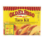 Old El Paso taco dinner kit de 273g.
