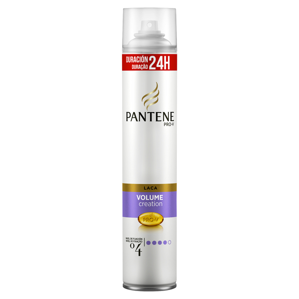 Pantene pro v laca volumen creation fijacion extra fuerte de 30cl. en spray
