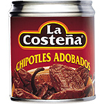 Costeña chipotles de 220g. en lata