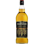 100 Pipers whisky escoces de 1l. en botella