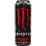 Monster assault energy con taurina ginseng de 50cl. en lata