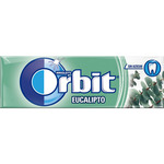 Orbit chicles sin azucar eucalipto de 14g.