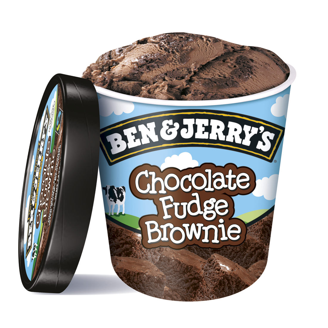 Ben & Jerry's fudge brownie helado chocolate con brownie de 50cl. en tarrina