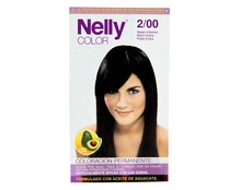 Nelly tinte en crema negro intenso color 2/00