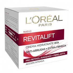 Loreal crema intensiva antiedad revitalift de 50ml.