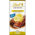 Lindt creation chocolate con leche relleno refrescante limon tableta de 150g.