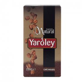 Café molido tueste natural yaroley de 250g.