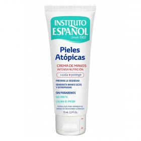 Instituto Español crema manos pieles atopicas de 75ml.