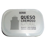 Hacendado queso untar blanco natural de 300g. en tarrina