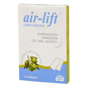Air Lift chicles eliminacion inmediata del mal aliento por 12 unidades