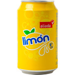 Aliada refresco limon de 33cl. en lata