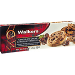 Walkers galletas con trozos chocolate hazelnut estuche de 150g.