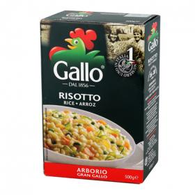 Riso Gallo arroz carnaroli risotto de 500g.