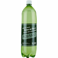Agua con gas aquaself de 1,5l. en botella