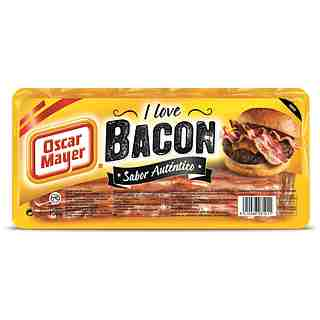 Oscar Mayer bacon de 150g.