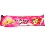Regal galletas strawberry rolls envase de 150g.