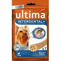 Ultima dog snacks interdental toy de 70g. por 13 unidades