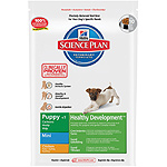 Hill's Science plan puppy mini healthy development nutricion superior cachorros raza mini con pollo de 3kg. en bolsa