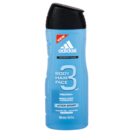 Adidas gel ducha 3 en 1 hair body & face active sport de 40cl. en bote