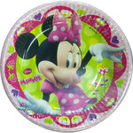 Minnie plato decorado 18 cm 8 en paquete