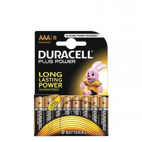 Duracell pack pilas alcalinas digital plus power lr03 aaa 8 ud