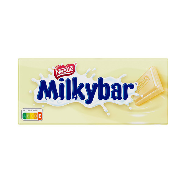Milkybar nestle chocolate blanco tableta de 100g.