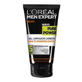 L'oréal Men Expert gel limpiador carbon multi purificante pure power de 15cl.