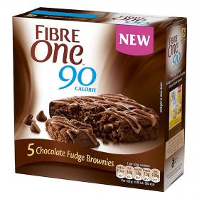 Fibre one bizcochitos chocolate por 5 unidades