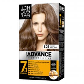 Llongueras coloracion permanente 6 24 marron macadamia advance advance