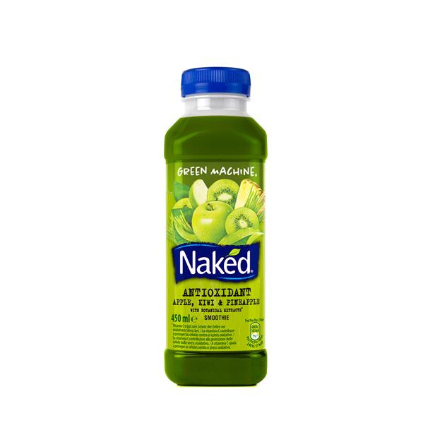 Naked smoothie green machine naked de 45cl.
